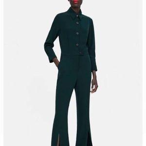NET Zara Forest Green Jumpsuit size S